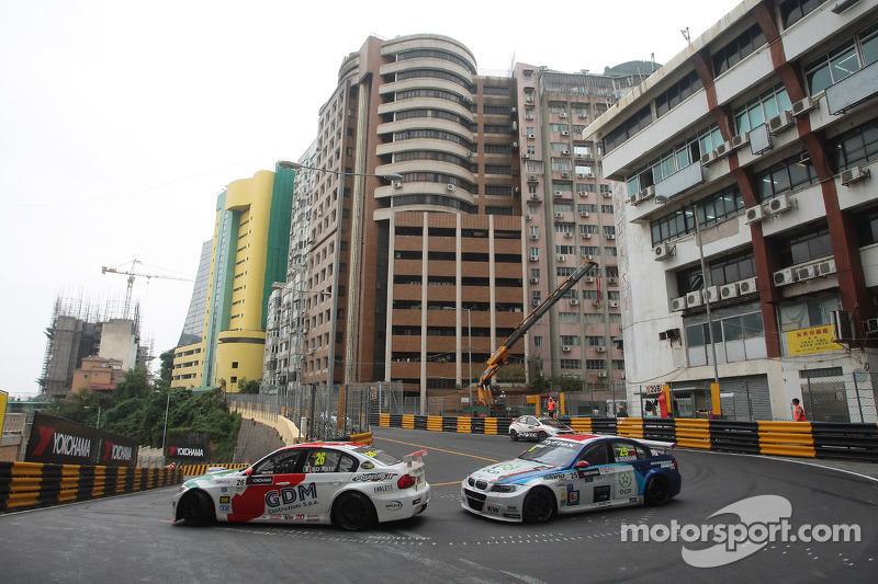 Stefano D'aste, BMW 320 TC, Wiechers-Sport and Mehdi Bennani, BMW 320 TC, Proteam Racing