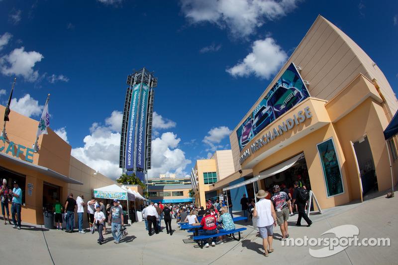 Homestead-Miami Speedway sfeer