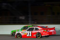 Danica Patrick, JR Motorsports Chevrolet and Justin Allgaier, Turner Motorsports Chevrolet