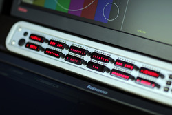 Pit gantry monitors
