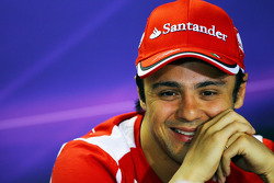 Felipe Massa, Ferrari in de FIA persconferentie