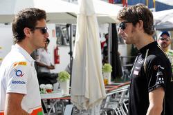 Jules Bianchi, Sahara Force India F1 Team Third Driver with Romain Grosjean, Lotus F1 Team