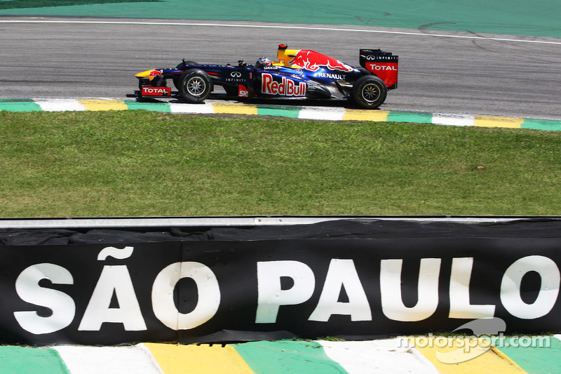 Себастьян Феттель. ГП Бразилии, Вторая пятничная тренировка.