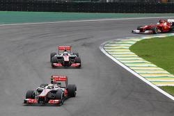 Льюис Хэмилтон. ГП Бразилии, Воскресная гонка.