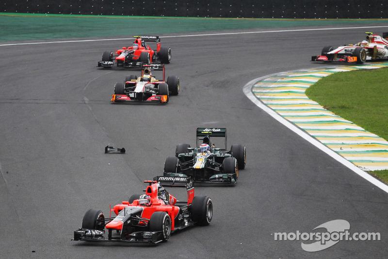 Тимо Глок. ГП Бразилии, Воскресная гонка.