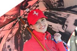 A lovely Ferrari fan
