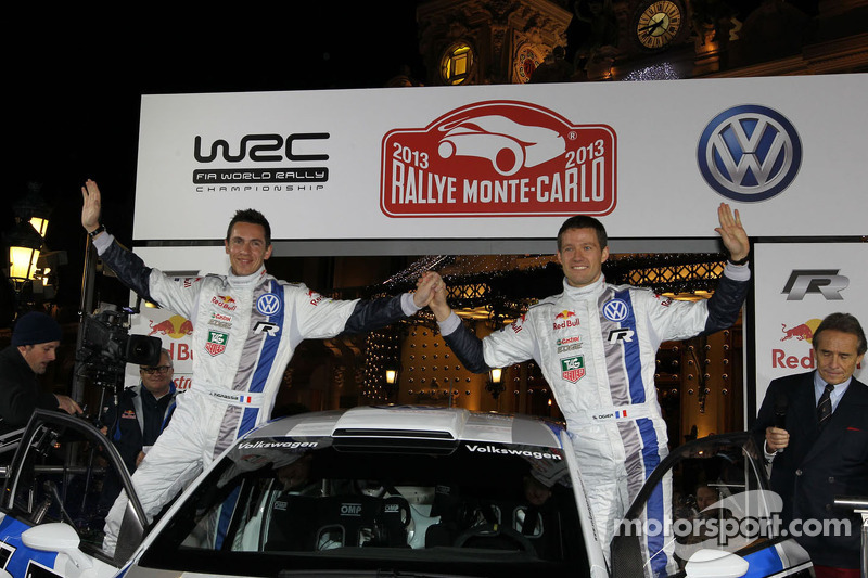 Sébastien Ogier and Julien Ingrassia
