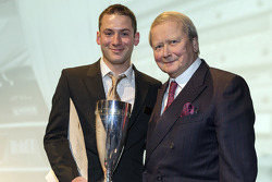 Nick Tandy wins the Porsche Cup, with Dr. Wolfgang Porsche
