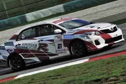 #21 Toyota WS Lai, KK Soh, YC Wong