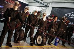 Honda team members