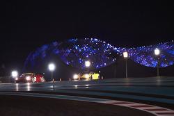 #10 AF Waltrip Ferrari 458 Italia: Steve Wyatt, Maurizio Mediani, Michele Rugolo