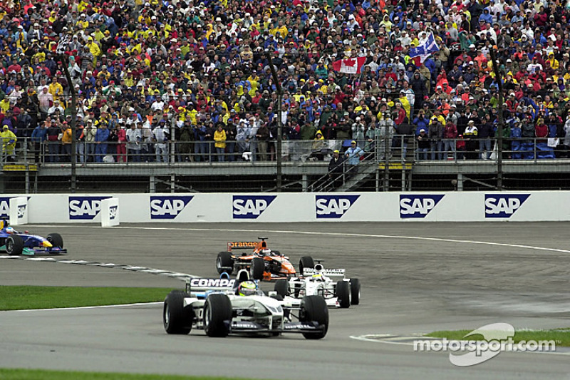 Ральф Шумахер. ГП США, Воскресная гонка.