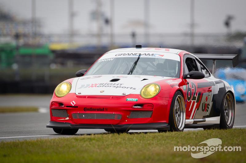 #62 Snow Racing/Wright Motorsports Porsche GT3: Madison Snow, Melanie Snow, Marco Seefried, Sascha Maassen, Klaus Bachler