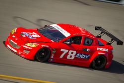 #78 Racers Edge Motorsports Mazda RX-8: Rudy Camarillo, Martin Fuentes, Carlos Peralta, Ricardo Perez De Lara