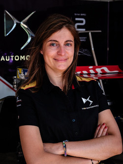 Менеджер гоночной программы DS Virgin Racing Клер Маньо