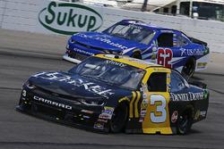 Brian Scott, Richard Childress Racing Chevrolet, Brendan Gaughan, Richard Childress Racing Chevrolet
