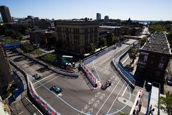 Mitch Evans, Jaguar Racing ve Oliver Turvey, NEXTEV TCR Formula E Team ve Maro Engel, Venturi