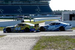 Nicki Petersen, Team Racing Total, Chevrolet und Thomas Ferrando, Knauf Racing, Ford