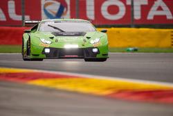 #19 GRT Grasser Racing Team Lamborghini Huracan GT3: Ezequiel Perez Companc, Rolf Ineichen, Raffaele Giammaria