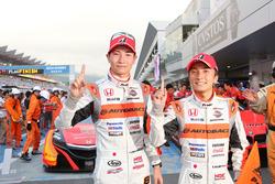 Race winners #8 Autobacs Racing Team Aguri Honda NSX Concept GT: Tomoki Nojiri, Takashi Kobayashi
