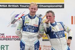 Podyum: Yarış galibi Jason Plato, Team BMR Subaru Levorg, 2. Ashley Sutton, Team BMR Subaru Levorg