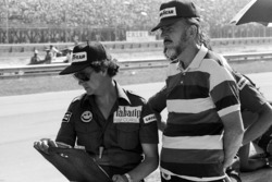 Bert Baldwin, bersama Don Nichols, Shadow Team Owner