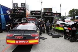 Christopher Bell, Joe Gibbs Racing Toyota and James Davison, Joe Gibbs Racing Toyota