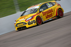 Rory Butcher, Team Shredded Wheat Racing with Duo Ford Focus