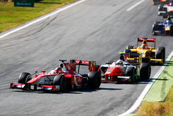 Charles Leclerc, PREMA Powerteam y Jordan King, MP Motorsport