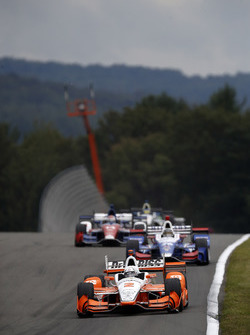 Джозеф Ньюгарден, Team Penske Chevrolet, Такума Сато, Andretti Autosport Honda