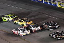 Paul Menard, Richard Childress Racing Chevrolet, Chris Buescher, JTG Daugherty Racing Chevrolet