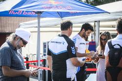 Daniel Ricciardo karting session