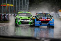 Франсуа Дюваль, DA Racing, Peugeot 208 WRX, и Лукаш Корнел, Speedy Motorsport, Kia Rio