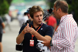 Davide Valsecchi, Sky Italia and Kai Ebel, RTL Presenter
