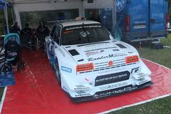 Karl Schagerl, VW Golf Rallye TFSI-R, MSC Mühlbach am Hochkönig, Fahrerlager