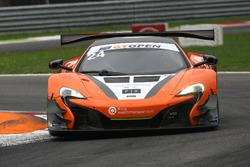 #24 Garage 59 McLaren 650 S GT3 2015: Michael Benham, Duncan Tappy