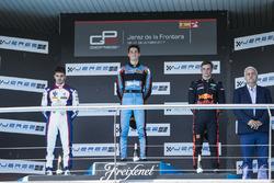 Podio: Alessio Lorandi, Jenzer Motorsport, Dorian Boccolacci, Trident, Niko Kari, Arden International
