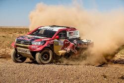 #300 Toyota Hilux: Нассер Аль-Аттия, Матье Бомель