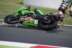 Unfall: Kenan Sofuoglu, Kawasaki Puccetti Racing