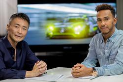 Lewis Hamilton dans Gran Turismo Sport