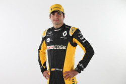 Карлос Сайнс-мол., презентація Renault