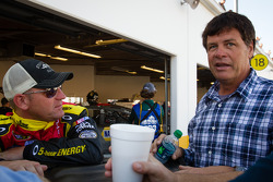 Clint Bowyer, Michael Waltrip Racing Toyota and Michael Waltrip