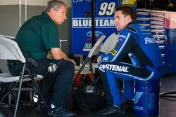 Carl Edwards, Roush Fenway Racing Ford and Jimmy Fennig
