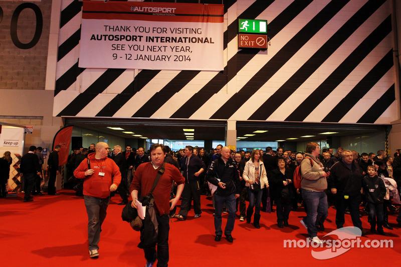 Autosport International opent voor het publiek
