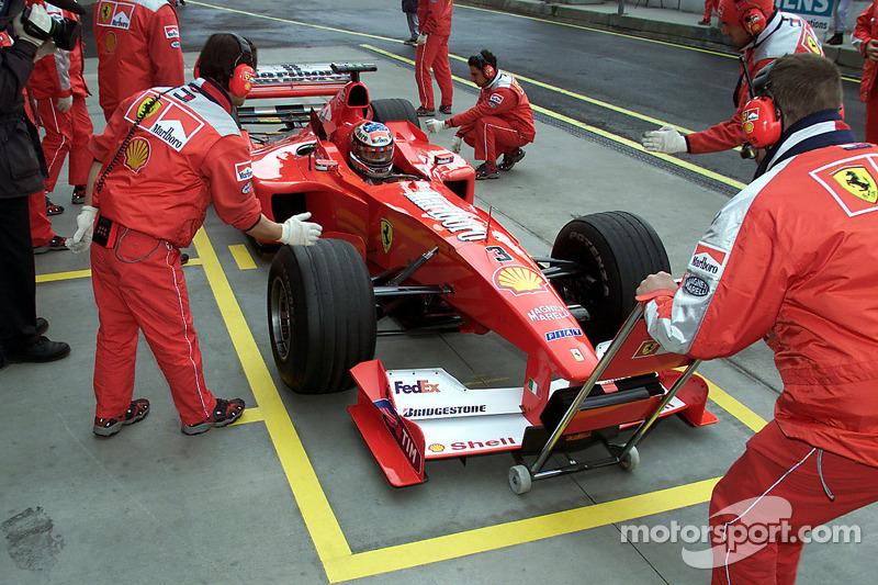 Михаэль Шумахер. ГП Европы, Субботняя квалификация.