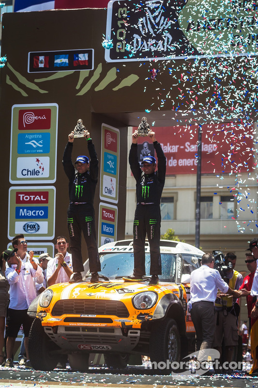 Third place in Car category Leonid Novitsky and Konstantin Zhiltsov