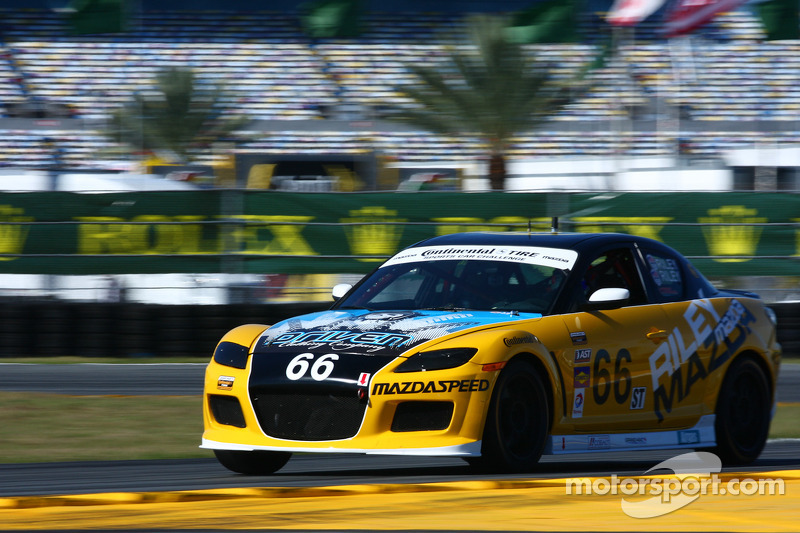 #66 Riley Racing Mazda RX-8: A.J. Riley, Jameson Riley