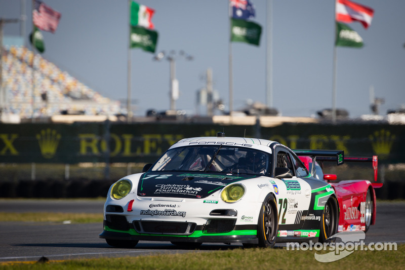 #72 Park Place Motorsports Porsche GT3: Chuck Cole, Grant Phipps, Mike Vess, Mike Skeen, Jean-François Dumoulin