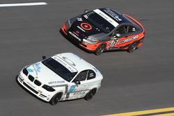 #63 Mitchum Motorsports BMW 128i: Johnny Kanavas, Joseph Safina and #75 Compass360 Racing Honda Civic SI: Ryan Eversley, Kyle Gimple