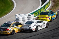#13 Rum Bum Racing Porsche 997: Nick Longhi, Matt Plumb, #55 Multimatic Motorsports Aston Martin Vantage: Jade Buford, Scott Maxwell, #45 Fall-Line Motorsports BMW M3 Coupe: Al Carter, Hugh Plumb